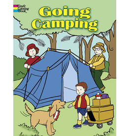 Dover Going Camping Coloring Book