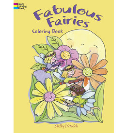 Dover Fabulous Fairies Coloring Book