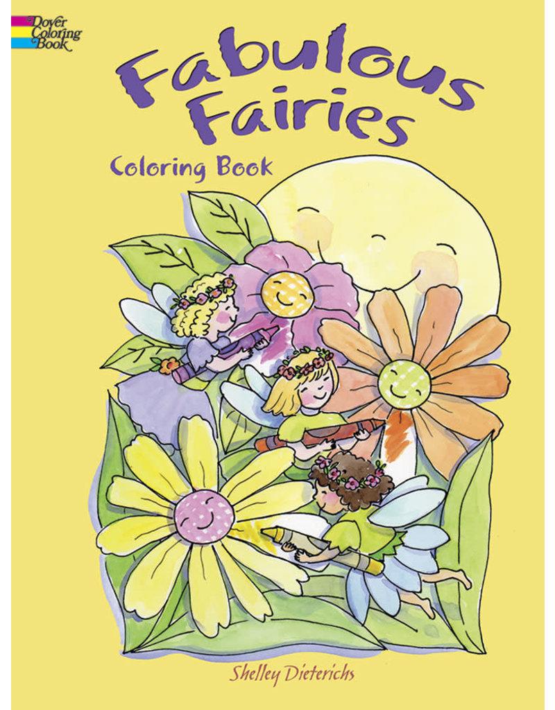 Dover Fabulous Fairies Coloring Book