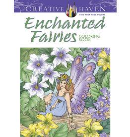 Dover Creative Haven Enchanted Fairies Coloring Book