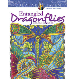 Dover Creative Haven Entangled Dragonflies Coloring Book