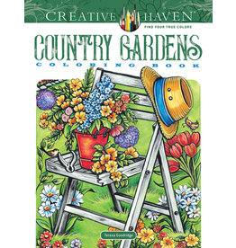 Dover Creative Haven Country Gardens Coloring Book