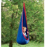 HearthSong Hugglepod Hanging Chair blue