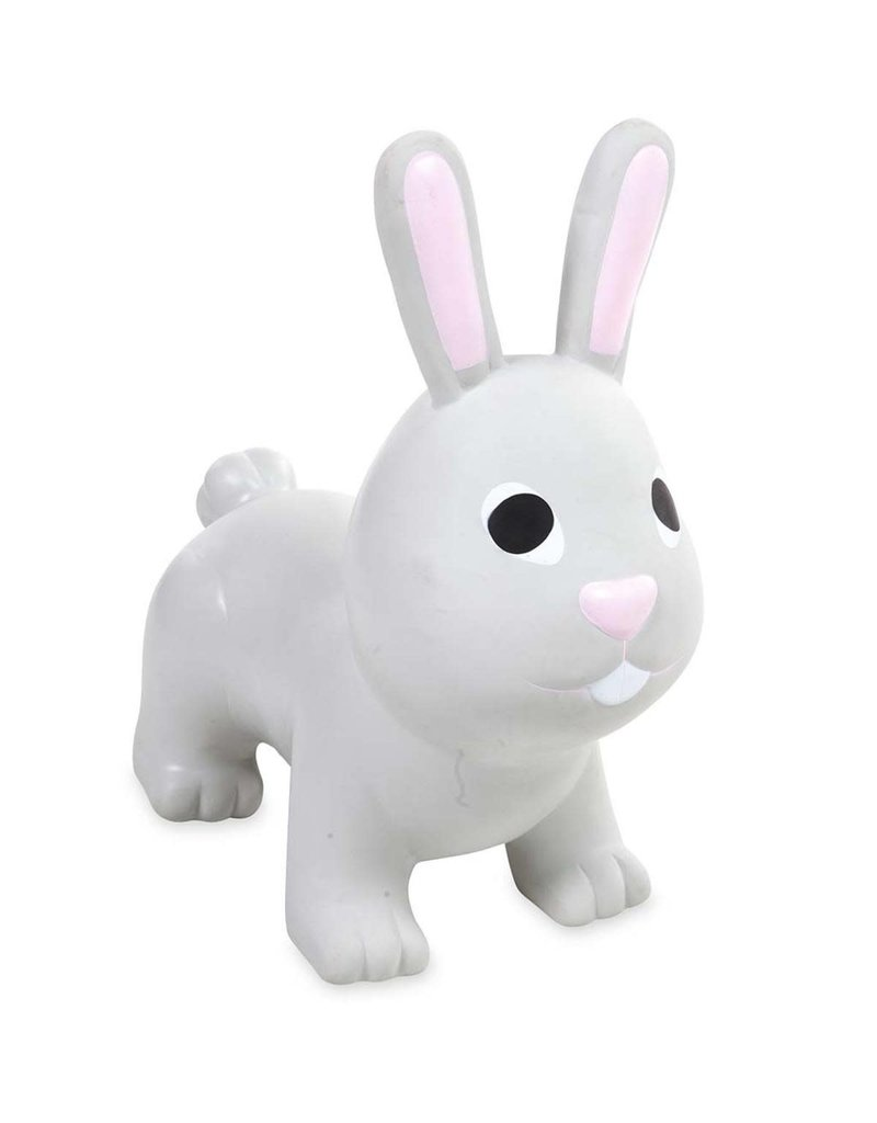 HearthSong Grey Bunny Jump-Along