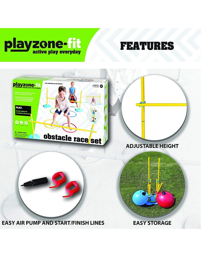 Playzone Playzone Obstacle Race Set