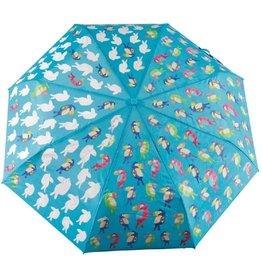 Floss & Rock Big Kid Tropical Toucan Color Changing Umbrella