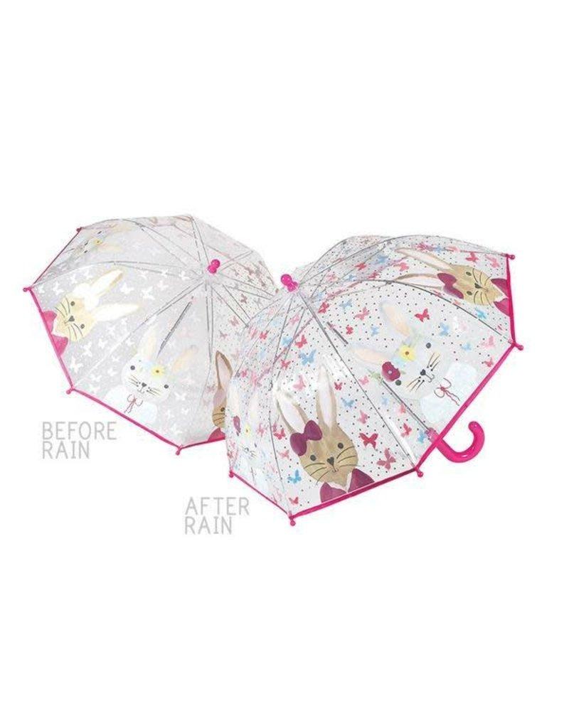 Floss & Rock Color Changing Bunny Transparent Umbrella