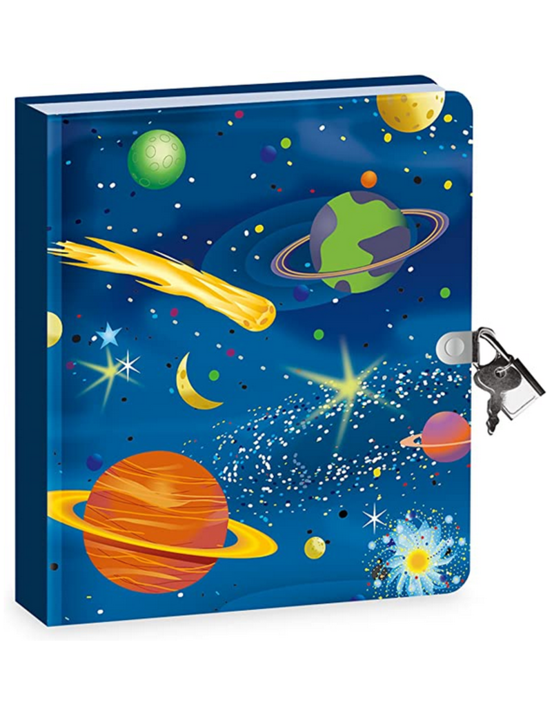 Peaceable Kingdom Glow Space Diary