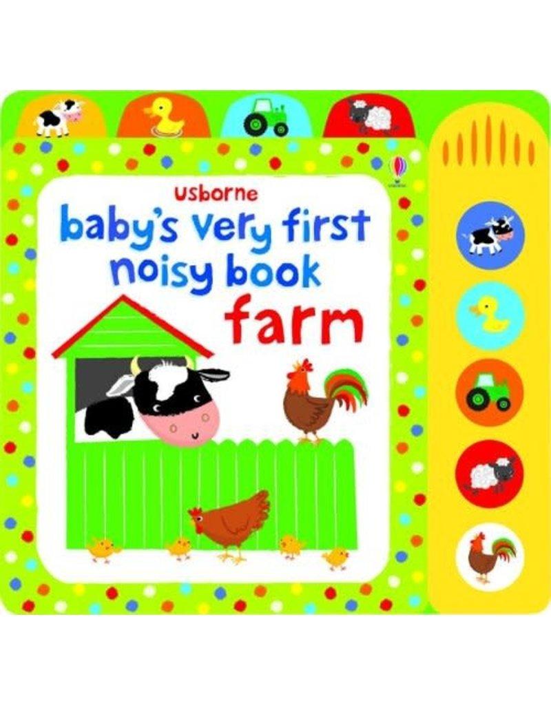 Usborne Baby's Very First Noisy: Farm