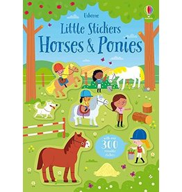 Usborne Little Stickers Horses & Ponies