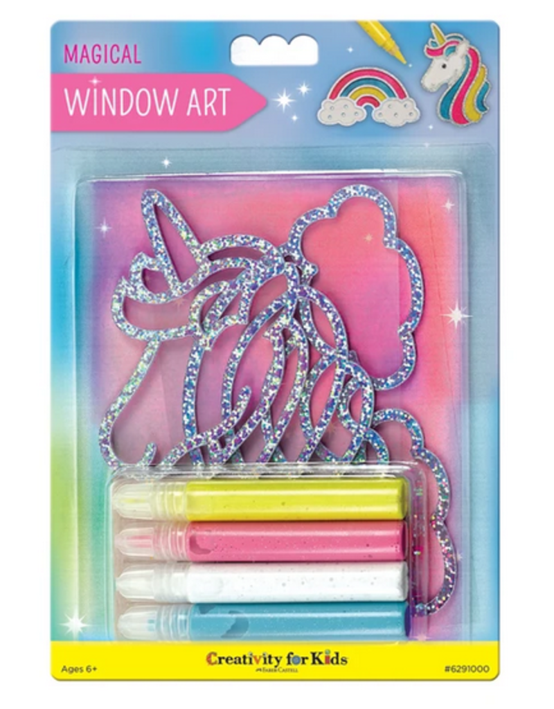 Creativity for Kids Window Art Magical