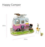 Hands Craft Happy Camper, DIY Miniature Dollhouse Kit