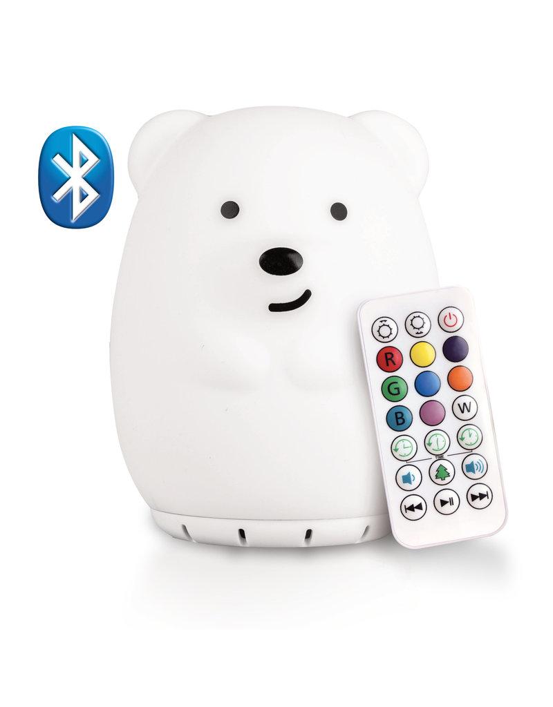 Lumieworld Lumipets LED Bear Night Light Bluetooth Speaker