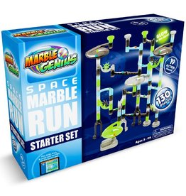 Marble Genius Space Marble Run  Starter Set