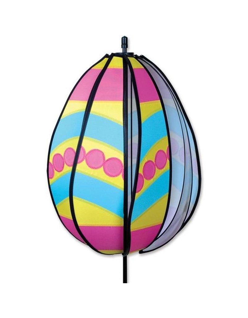 Premier Kites Pink Polka Dot Easter Egg Spinner
