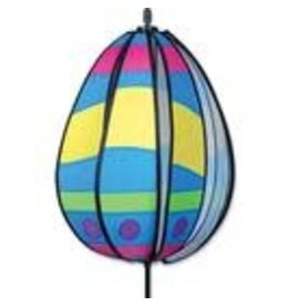 Premier Kites Wavy Yellow Easter Egg Spinner