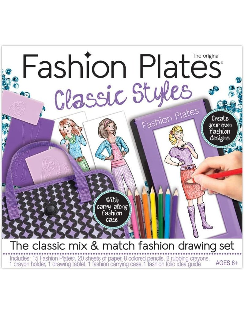 Kahootz Fashion Plates Classic