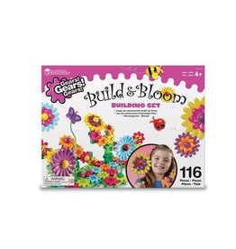 Learning Resources Build And Bloom Flower Garden Gears