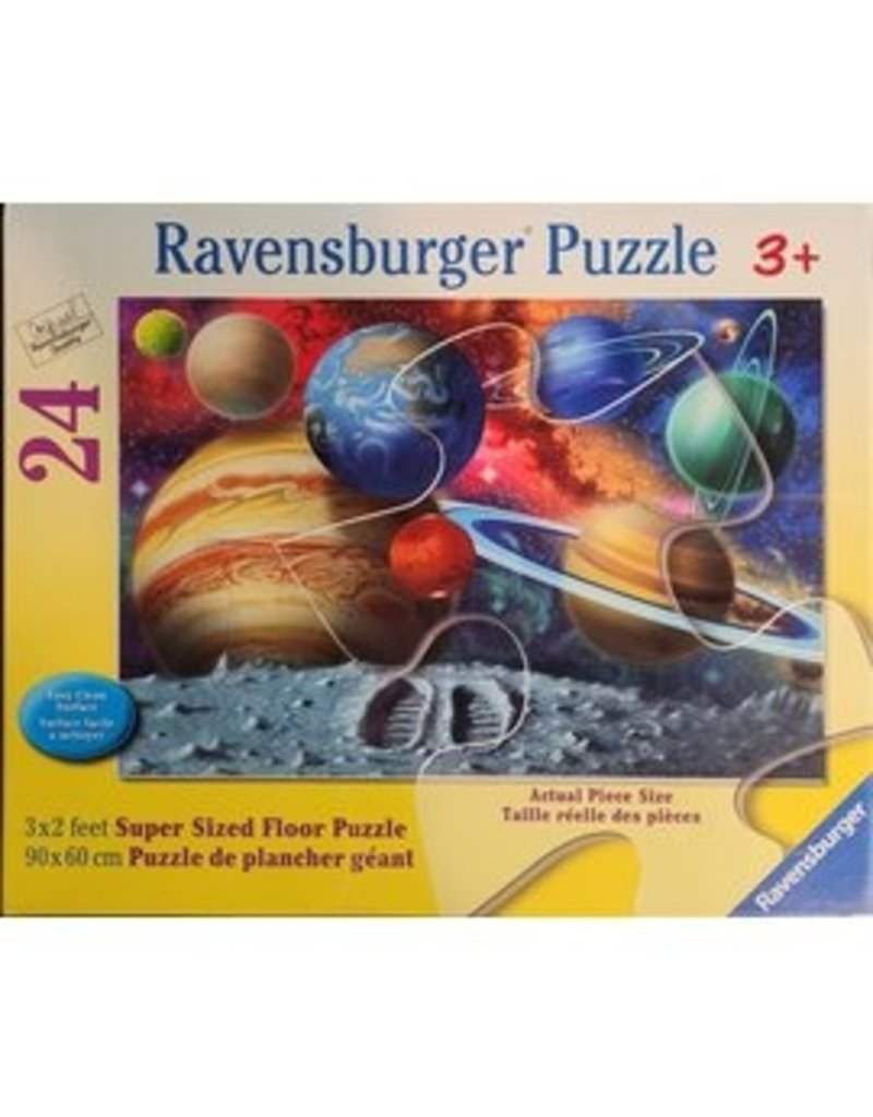 Ravensburger Stepping Into Space floor puzzle