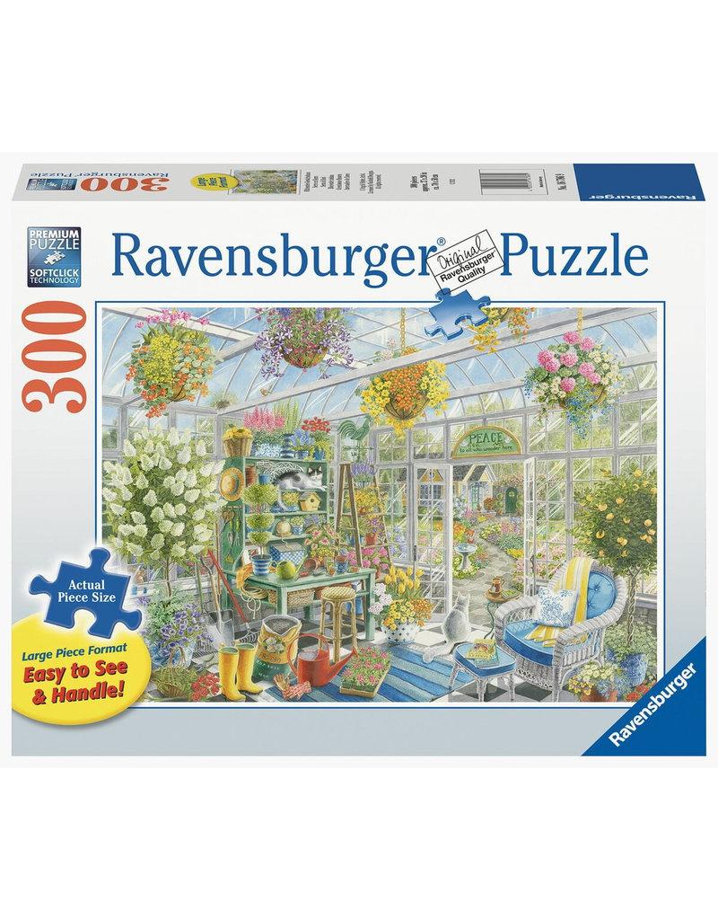 Ravensburger Greenhouse Heaven 300 pc XL