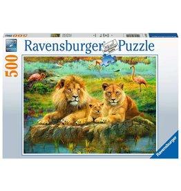 Ravensburger Lions in the Savannah 500 pc