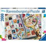 Ravensburger My Favorite Stamps - Disney 2000 pc
