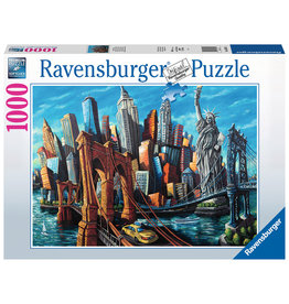 Ravensburger Welcome to New York 1000 pc
