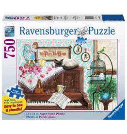 Ravensburger Piano Cat 750 pc XL