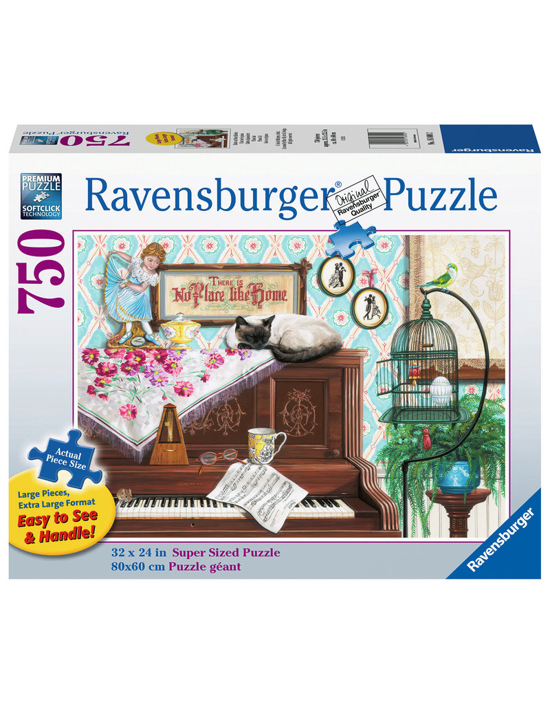 Ravensburger Piano Cat 750 pc XL