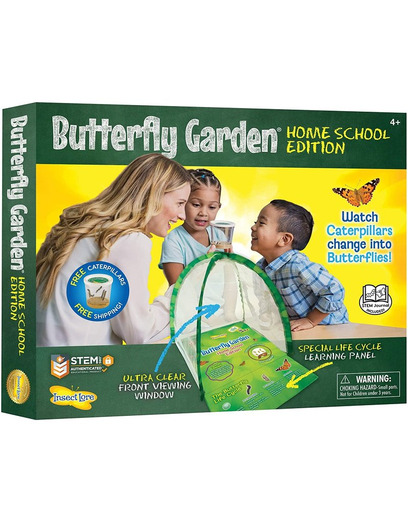 Insect Lore Butterfly Garden Homeschool Edition