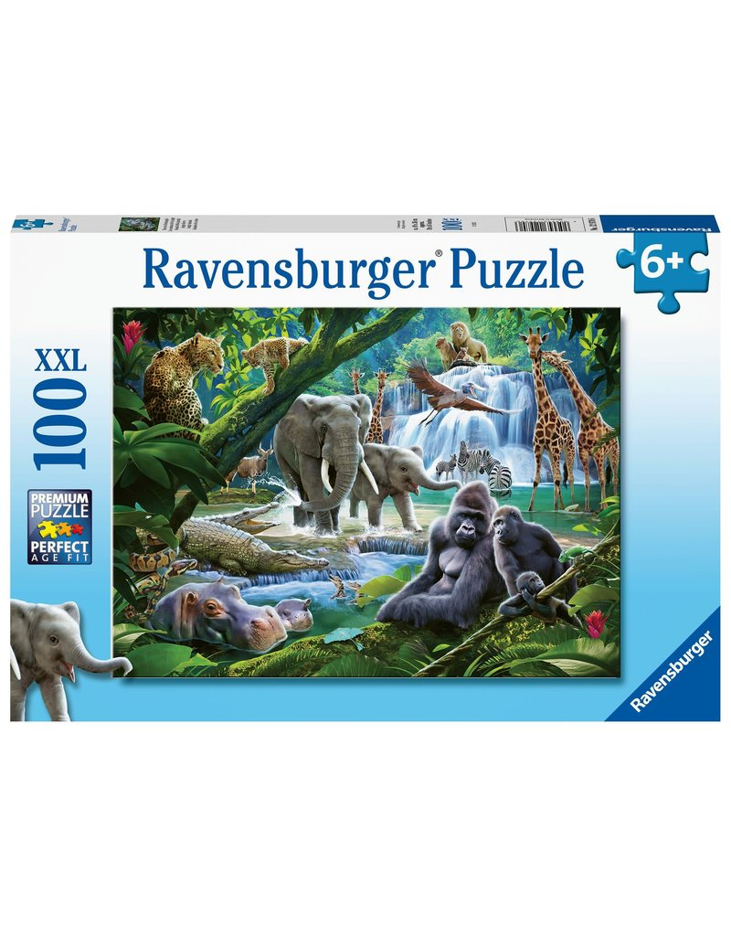 Ravensburger Jungle Animals 100 pc