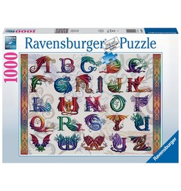Ravensburger Dragon Alphabet 1000 pc