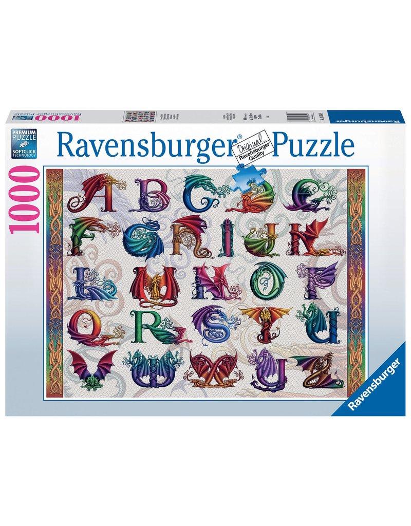 Ravensburger Dragon Alphabet 1000 pc