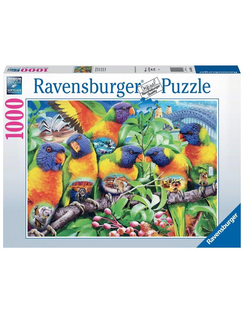 Ravensburger Land of the Lorikeet 1000 pc