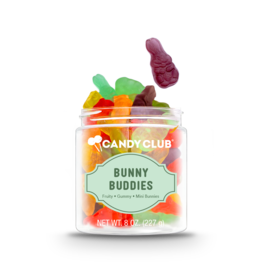 Candy Club Candy Club Gift Jar Bunny Buddies