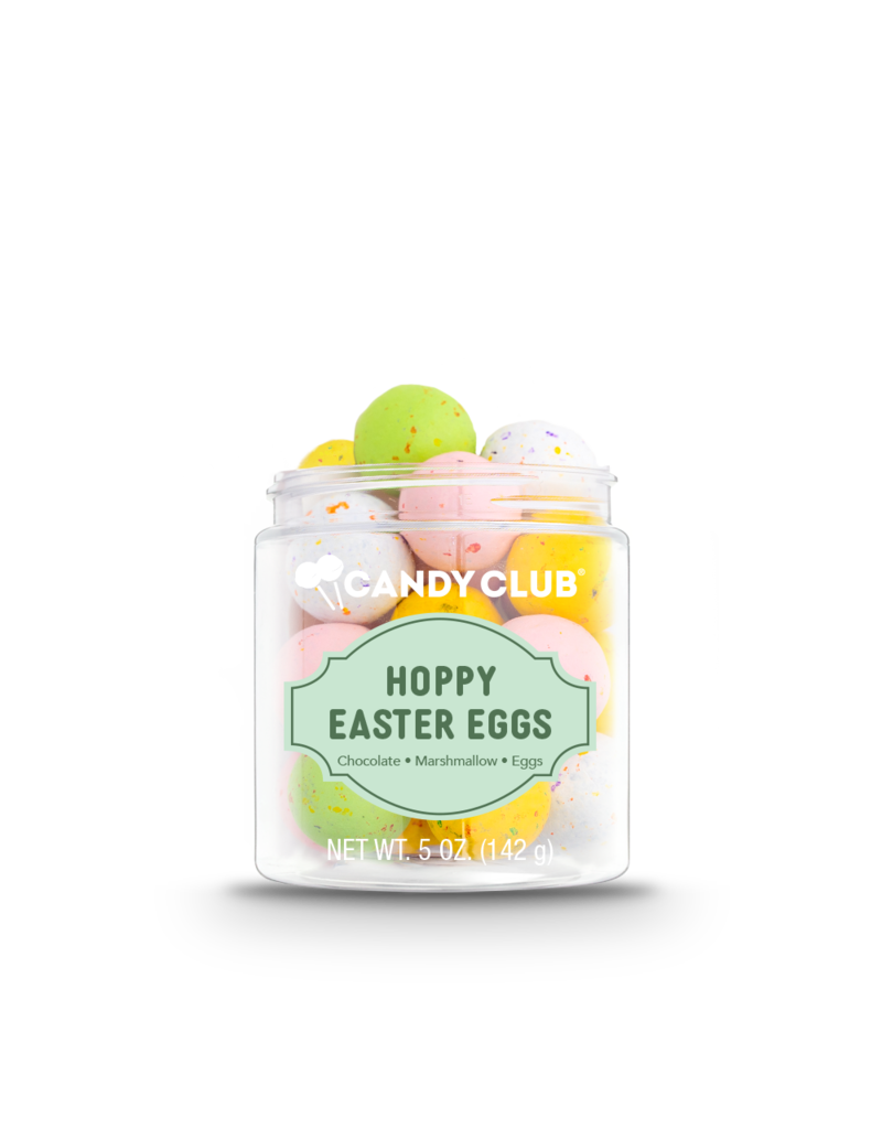 Candy Club Candy Club Gift Jar Hoppy Easter Eggs