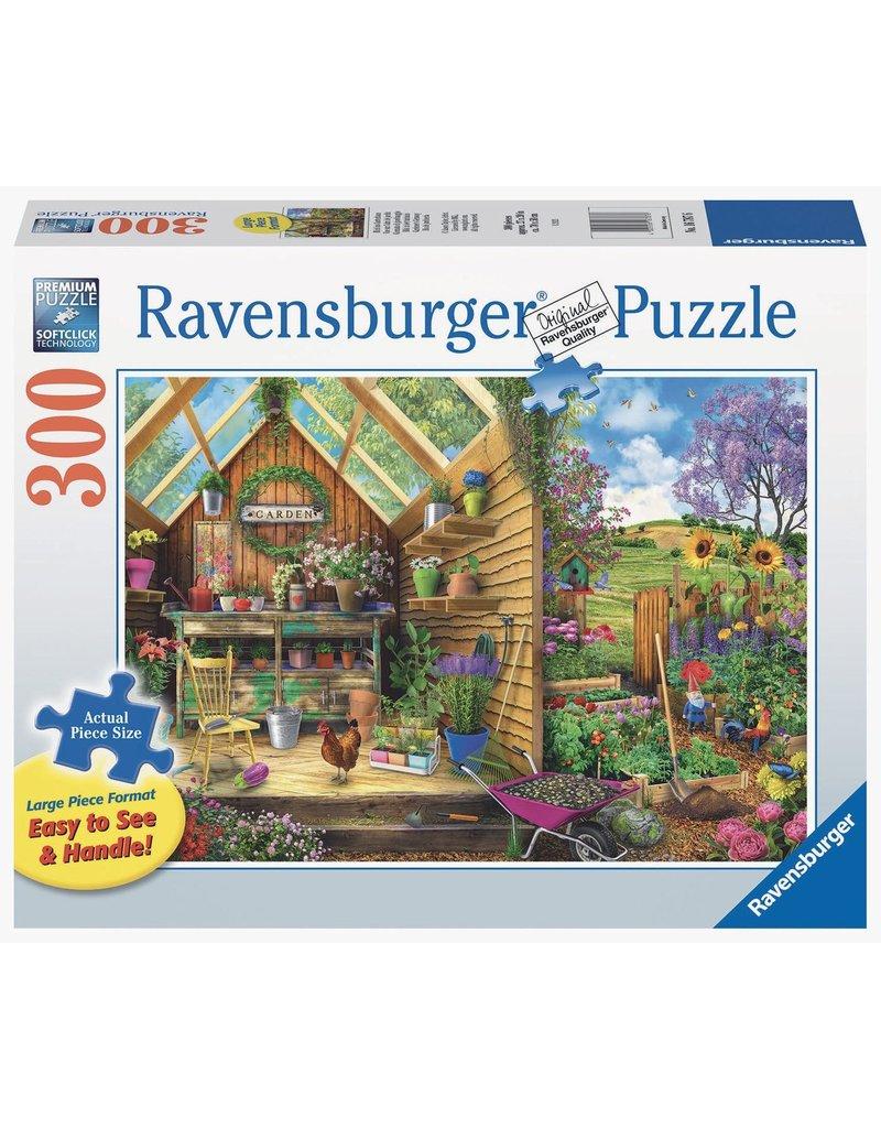 Ravensburger Gardener's Getaway 300 pc XL