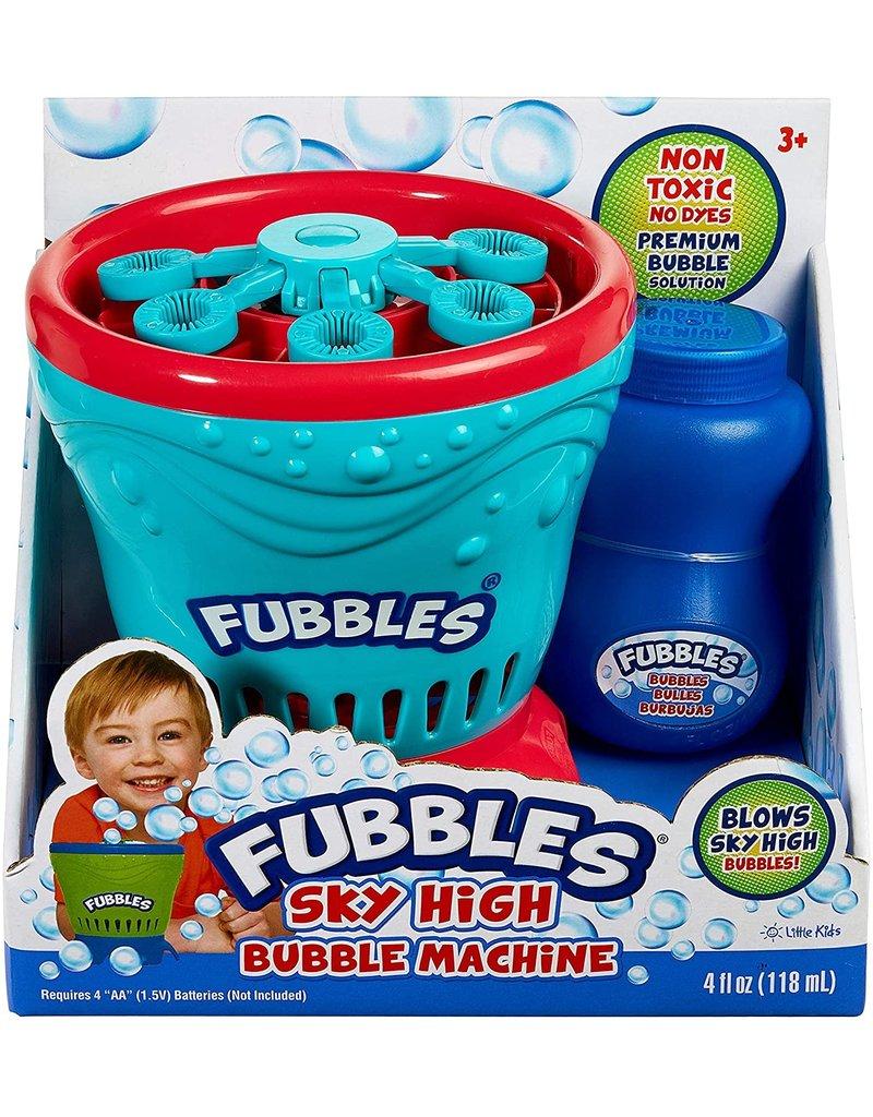 Little Kids Fubbles Sky High Bubble Machine