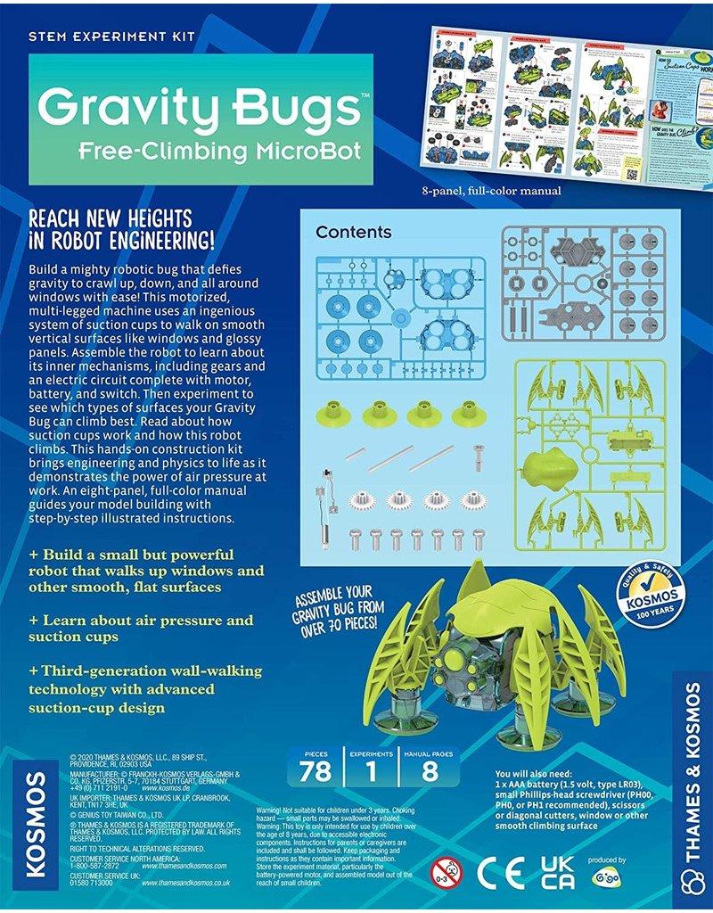 Thames and Kosmos Gravity Bugs™ - Free-Climbing MicroBot