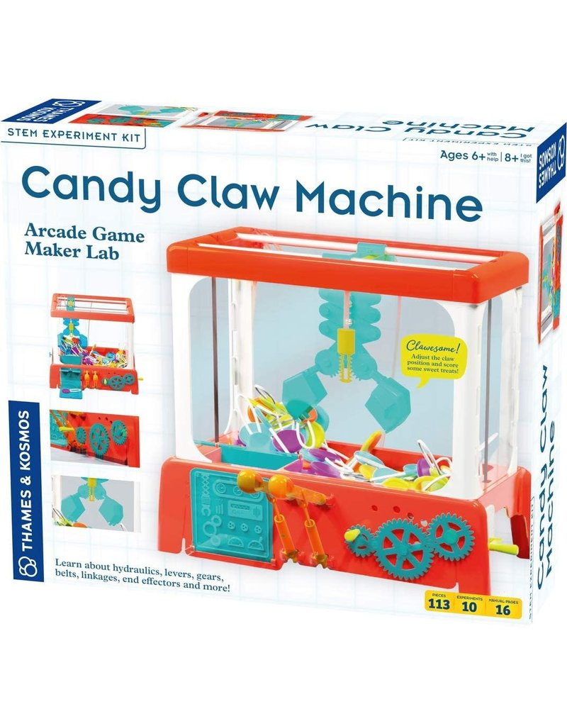 Thames and Kosmos Candy Claw Machine - Arcade Game Maker Lab