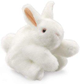 Folkmanis White Bunny Rabbit Puppet