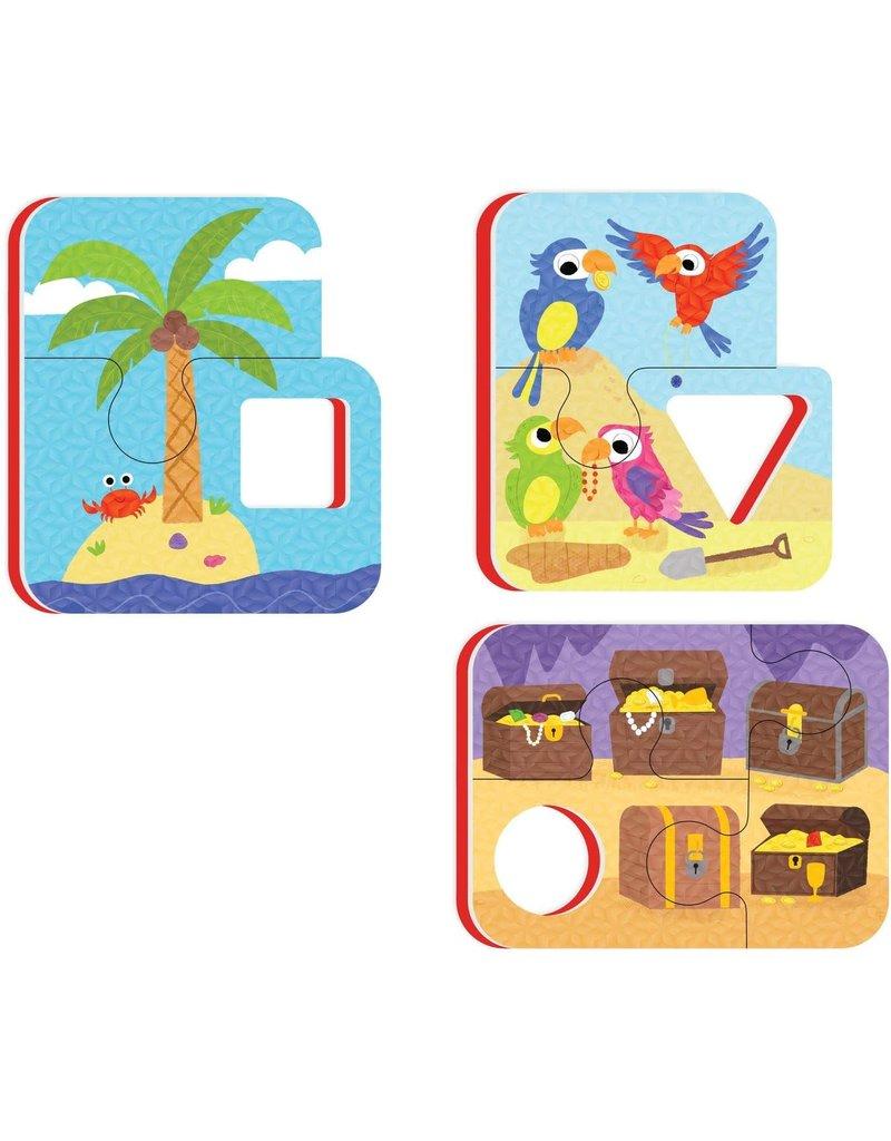 Peaceable Kingdom Playful Pirates Bath Puzzle