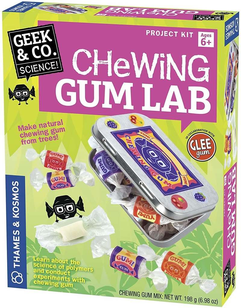 Thames and Kosmos Chewing Gum Lab