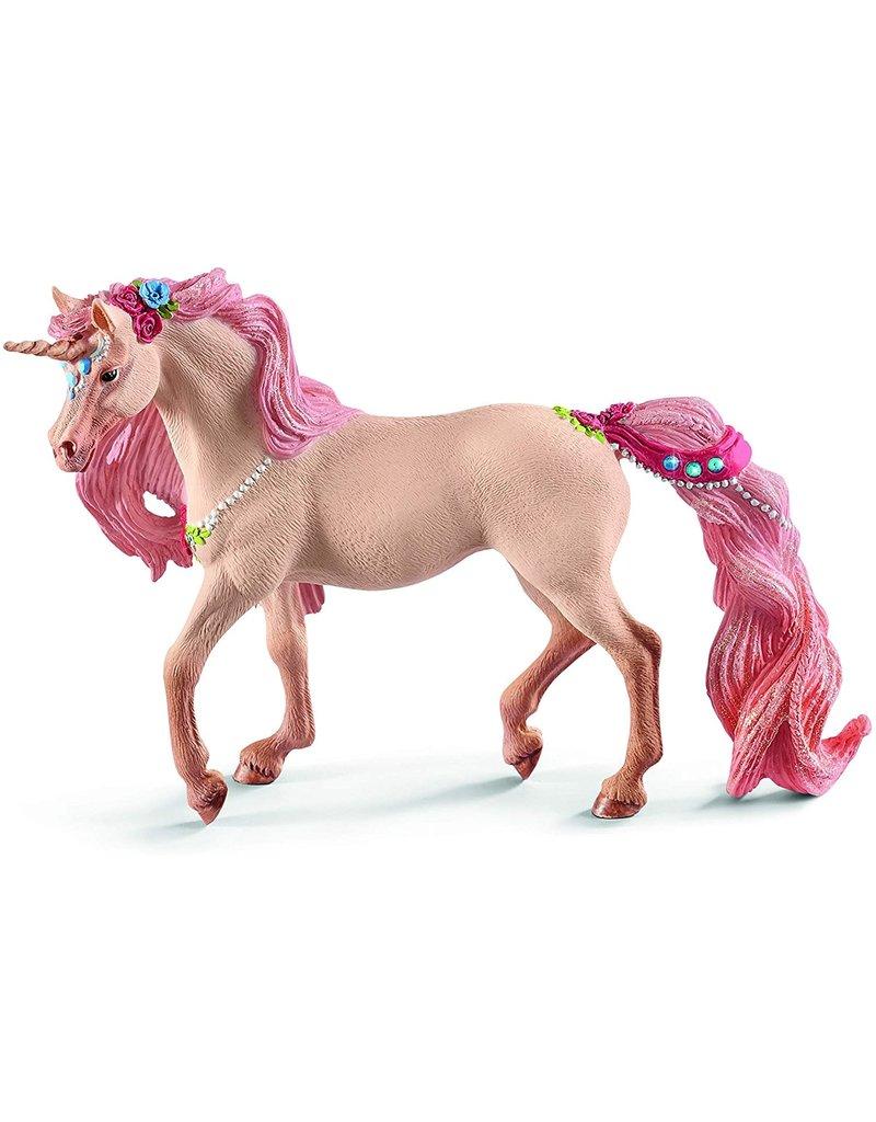 Schleich Decorated Unicorn, mare