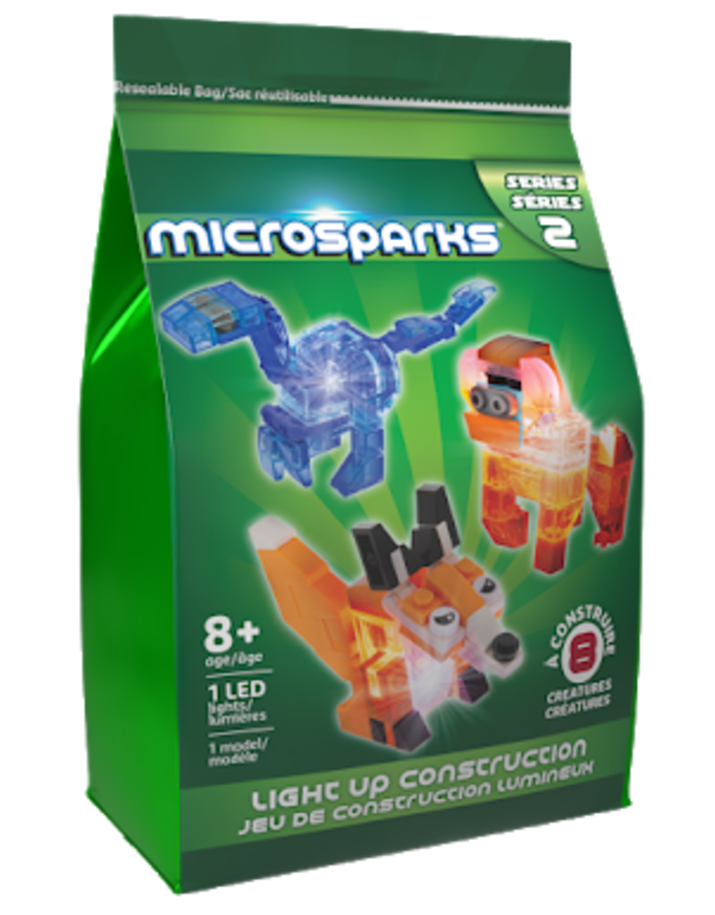 Laser Pegs Microsparks Creatures Blind Bag