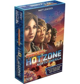 Z-Man Games Pandemic Hot Zone North American