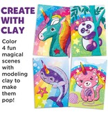 Faber-Castell Do Art Coloring with Clay Unicorn & Friends
