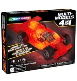 Laser Pegs Laser Pegs MultiModel 4in1  Formula Racer