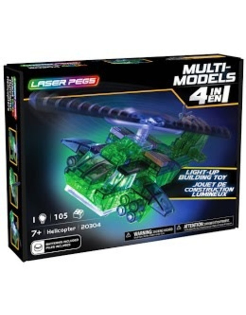 Laser Pegs Laser Pegs MultiModel 4in1  Helicopter