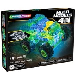 Laser Pegs Laser Pegs Multi Model 4in1 Mega Truck